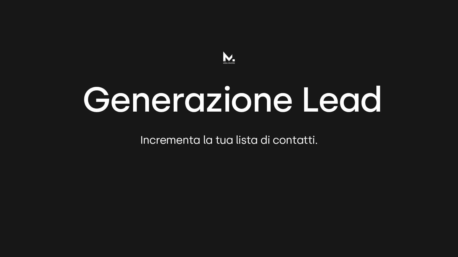 generazione lead