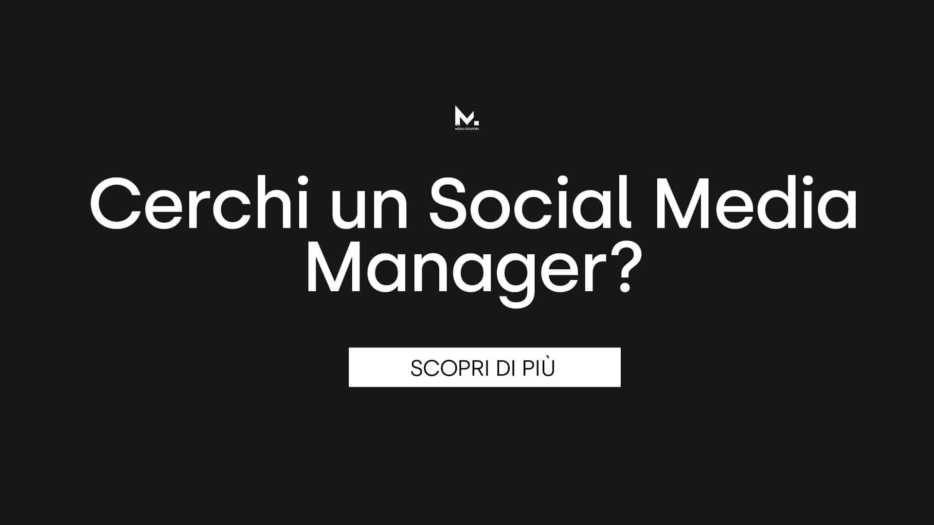 Social Media Manager a Venezia